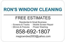 Ron's Window Cleaning